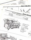 1965 1966 FORD PICKUP FLARESIDE STYLESIDE BRONCO ORIGINAL MOTORS CRASH SHEETS 2