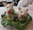 Fitz and Floyd French Market salt and pepper set new in box 3 piece