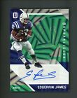 2016 Panini Unparalleled Green Edgerrin James Colts AUTO 1 1