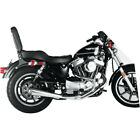 Supertrapp Satin 2 into 1 Megaphone Exhaust for 1986 2003 Harley Sportster XL