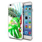 Personalised Premium Hard Case Cover for Mobiles - Big Green Leaf 125