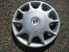 one 1997 to 2005 Buick Century bolt on hubcap wheel cover scratched