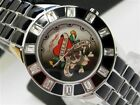 ED HARDY Womens Chic LOVE KILLS SLOWLY STAINLESS! CH-LK