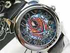 ED HARDY Revolution Contrast SKULL Leather! RE-FS NEW!