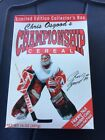 Chris Osgood's Championship Cereal Limited Edition Box Sealed Detroit Red Wings