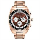 New Caravelle New York by Bulova 45A110 Men's  Rose Gold-Tone Chronograph Watch