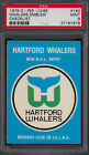 1979 80 OPC O PEE CHEE 163 HARTFORD WHALERS NHL ENTRY PSA 9 MINT GRADED UNMARKED
