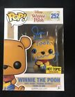 JIM CUMMINGS SIGNED WINNIE THE POOH HOT TOPIC EXCLUSIVE FUNKO POP FIGURE