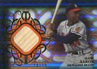 Hank Aaron Unsigned 2015 Topps Tribute Bat Card