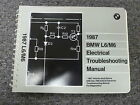 1987 BMW L6 M6 Coupe Electrical Wiring Troubleshooting Service Repair Manual