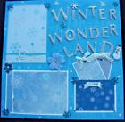 3 D Sewn Mats Beautiful Winter Page Winter Wonderland also has journal tags and