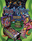 Cirqus Voltaire Pinball Original Flyers Mint Condition Fifty Pieces