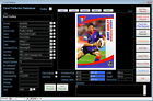 Sports Card Collection Database Software CDROM for Windows