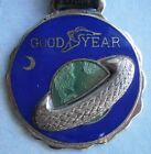 Vintage GOODYEAR Enamel Watch Fob from the early 1900s