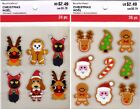 U CHOOSE Recollections Stickers CHRISTMAS COOKIE ANIMAL COSTUMES Santa Rudolph