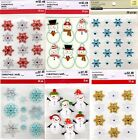 U CHOOSE Recollections Stickers SNOWFLAKES SNOWMAN SNOWMEN Christmas Winter