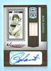 RON SANTO 2005 DONRUSS GREATS SOUVENIRS GAME USED BAT AUTOGRAPH AUTO