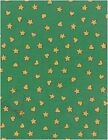 Hearts  Stars Print Quilters Fabric
