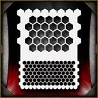 Honeycomb Airbrush Stencil Template Airsick