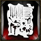 Drips  Splatters Airbrush Stencil Template Airsick