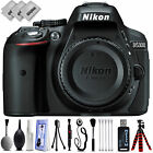 Nikon D5300 242MP Digital SLR Camera w 32 LCD GPS 1080P + 20PC Kit