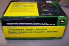 NIB John Deere Brand 1.5 amp Battery Charger Maintainer TY25866