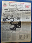 1974 BELMONT STAKES DAILY RACING FORM LITTLE CURRENT HORSE RACING PAPER