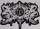 xasthur  SHAPED LOGO EMBROIDERED BACK PATCH
