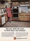 1972 Actress Doris Day photo In Her New Kitchen GS Appliances promo print ad