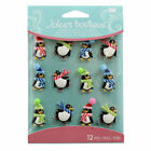 Jolees Boutique Embellishment Stickers Holiday Penguins Cabochons 1571