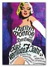 Marilyn Monroe A3 CANVAS PRINT Seven Yr Itch Vintage Movie poster 18X 12