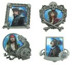 2011 Disney Pirates of the Caribbean Booster Collection Set of 4 Pins