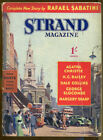 Strand Magazine No 591 March 1940 Agatha Christie Rafael Sabatini