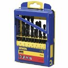 S#Irwin 19 HSS Pro Drill Bit Set 10502500 Drilling Plastic Metal Steel Cast Iron