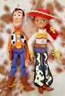 TOY STORY WOODY 16 and JESSE 15 Talking Pull String Dolls Disney Pixar