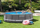 Intex 14 x 42 Ultra Frame Above Ground Swimming Pool Set Model 26309EH