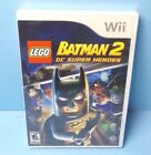 LEGO Batman 2: DC Super Heroes (Nintendo Wii, 2012) BRAND NEW FACTORY SEALED