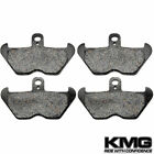 Front Organic NAO Brake Pads For 1997-2000 BMW R 850 C (Cast wheel/ABS)