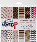 Your Next Stamp Paper Pad 6X6 24 Pkg Crazy For Coffee
