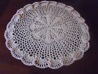 NEW Hand Crochet Doily Table Centerpiece Light Peach 135