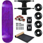 Moose Complete Skateboard STAINED PURPLE 775 Black Black