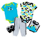 Baby Boy Buster Brown Dino Dude Boys 5pc Set Size 6 9 Months NWT