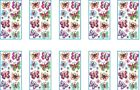 HUGE LOT Jolees PAISLEY BUTTERFLY REPEATS Stickers 10 Packs
