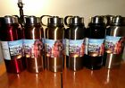 Stainless Steel Water Bottles Kids Adults Black 30 Oz Vacuum Insulated Thermos