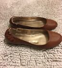 MOSSIMO BROWN BALLET FLATS SIZE 8