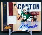 2010 Absolute Memorabilia Canton Absolutes #16 Joe Namath Patch Auto #07 25 JETS