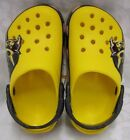 NEW BOYS CROCS CB TRANSFORMERS BUMBLEBEE CLOG YELLOW CHILDS SIZE 8 9