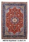 Isfahan Hard-Wearing Wool Hand Knotted Rug 8' x 11' Persian