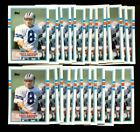 1989 TOPPS TRADED #70T TROY AIKMAN RC LOT OF 25 MINT F68136