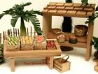 FONTANINI 5 RETIRED 12PC HARVEST 1996 NATIVITY VILLAGE ACCESSORY SET 51100 GCIB